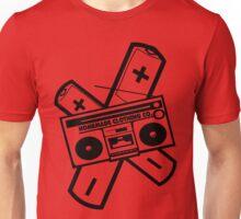 Boombox and Cross Batteries Unisex T-Shirt