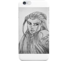 Unknown Woman iPhone Case/Skin