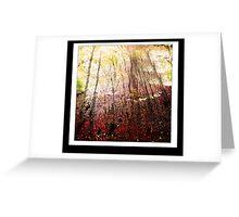 Tree dream Greeting Card
