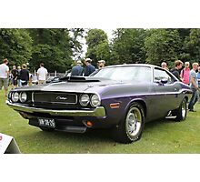 Dodge Charger Photographic Print