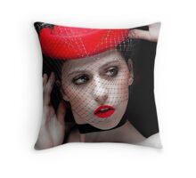 The Lady Wants To Know Throw Pillow