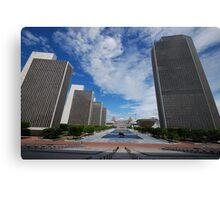 Empire State Plaza Canvas Print