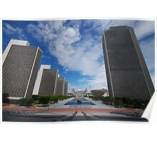 Empire State Plaza Poster