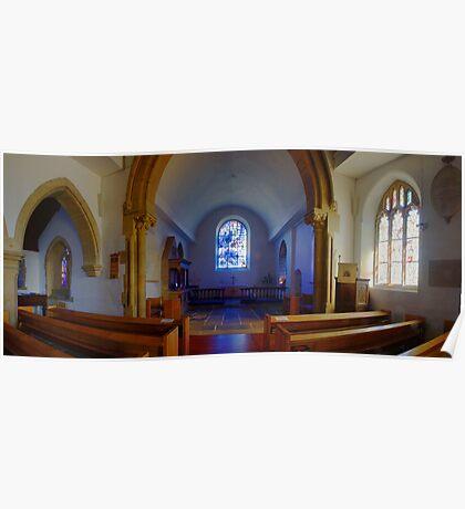 All Saints Church, Tudeley Poster
