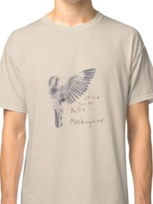 To Kill a Mockingbird - Transparent Classic T-Shirt