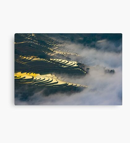 Yuanyang Terraced rice field 1 Canvas Print