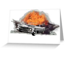 Increase Your Gears: The World Is Exploding! Greeting Card