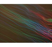 'Colour swipe' Photographic Print