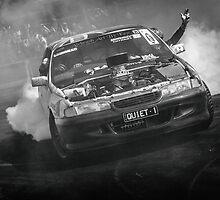 QUIET 1 Motorfest Burnout by VORKAIMAGERY