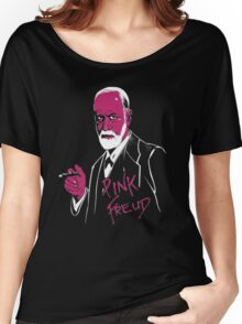 Pink Freud Women's Relaxed Fit T-Shirt