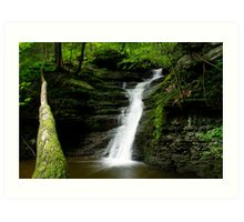 Buttermilk Waterfalls Art Print
