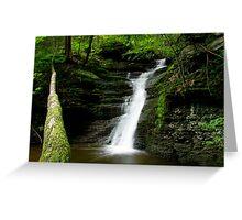 Buttermilk Waterfalls Greeting Card