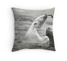Look Ma...... I caught a fish! Throw Pillow