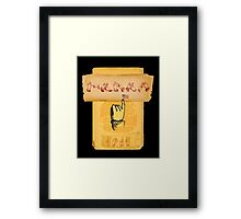 It's a sign. Framed Print