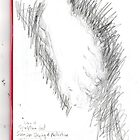 copy sculpture foot -(230511)- pencil/A4 drawing pad by paulramnora