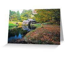 MABRY MILL,AUTUMN Greeting Card