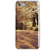 Soft Wet Childhood Snow iPhone Case/Skin