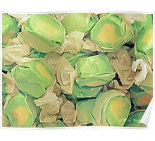Green Apple Saltwater Taffy Poster