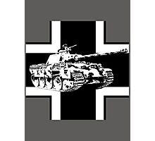 WW2 Panther tank Photographic Print