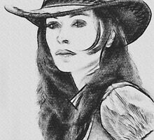 The Cowgirl by John Thompson