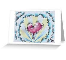 Heart on a String Greeting Card