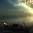 Morning light on Iznik lake by Mustafa UZEL