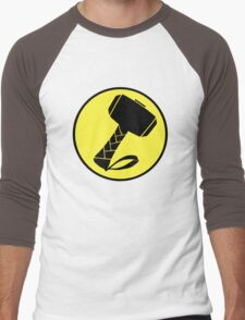 Captain Mjolinir- Everyone's hero! Men's Baseball ¾ T-Shirt