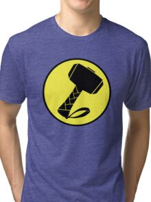 Captain Mjolinir- Everyone's hero! Tri-blend T-Shirt