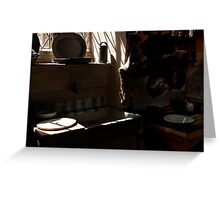 Canons Ashby House  The Kitchen Greeting Card