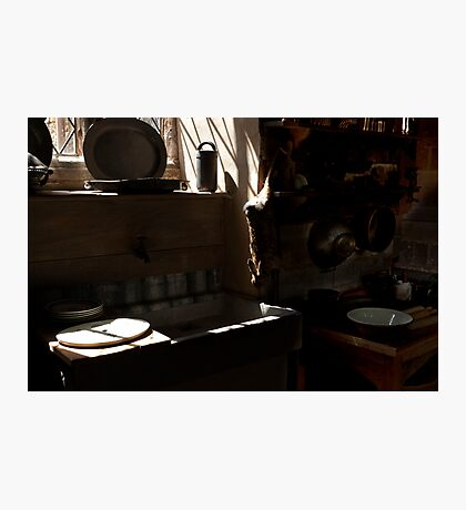 Canons Ashby House  The Kitchen Photographic Print