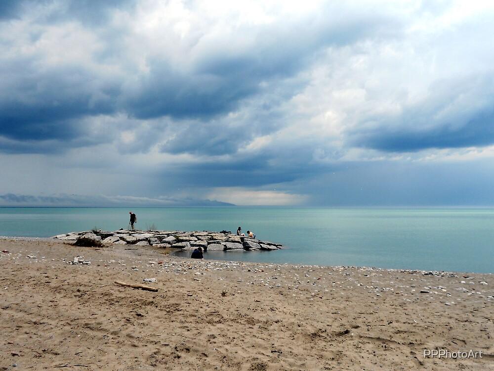Cloud Art at the Beach by PPPhotoArt