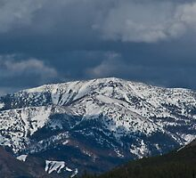 Sierra Nevada above the Truckee River by Dory Breaux
