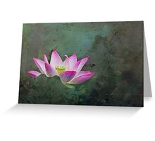 Mystical Lotus Greeting Card