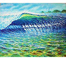 Dolphin Surf Photographic Print