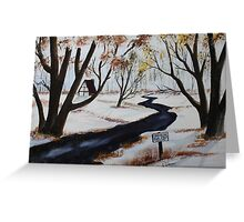 120 Acres for Sale Greeting Card