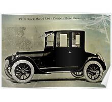 1918 Buick Poster