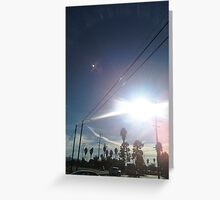 Sparkly Sky Greeting Card
