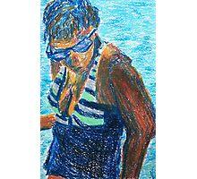 Bathing Beauty (pastel) Photographic Print
