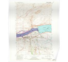 USGS Topo Map Washington Umatilla 244407 1962 24000 Poster