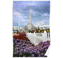 Boise Temple From the Garden 20x30 Poster