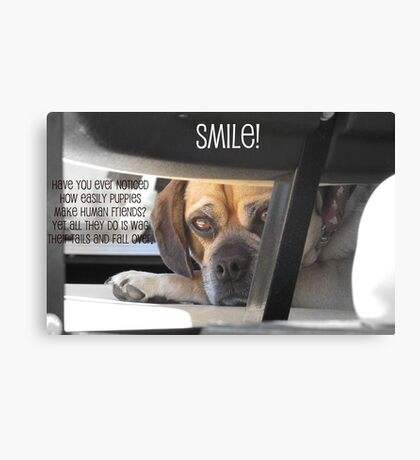 Smile :) Canvas Print