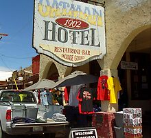 Route 66 - Oatman, Arizona by Frank Romeo