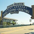 Route 66 - Santa Monica Pier by Frank Romeo