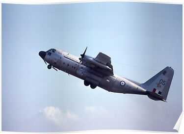 C-130A Hercules @ Williamtown Air Show 1976 by muz2142