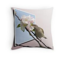 The Tennessee Warbler OOB Throw Pillow