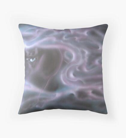 horsey haze Throw Pillow