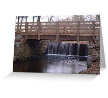 Mines Falls  Greeting Card