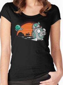 BB-Gir Women's Fitted Scoop T-Shirt