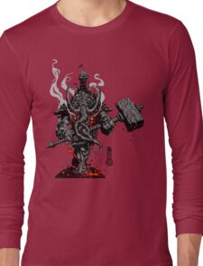 The Game of Kings, Wave One: The Black King's Rook Long Sleeve T-Shirt