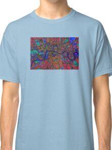 London England Street Map Classic T-Shirt